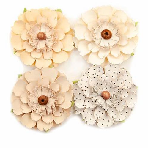 Prima - Pretty Pale Flowers - Neutral Beauty