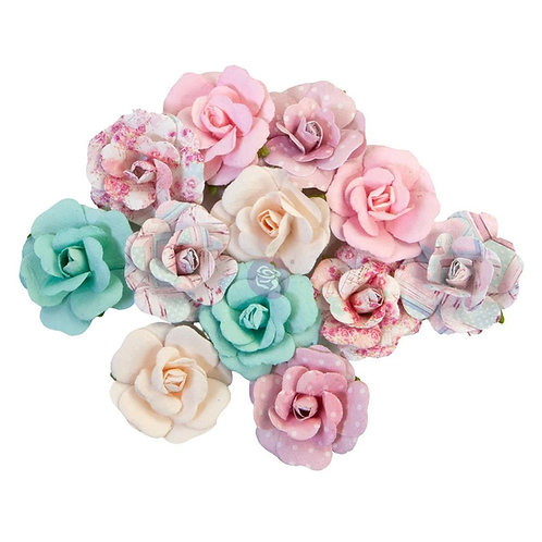 Prima - Lovely Bouquet/With Love - Mulberry Paper Flowers