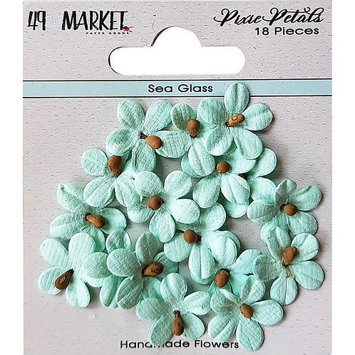 49 and Market-Pixie Petals-Sea Glass-Item #PP89111