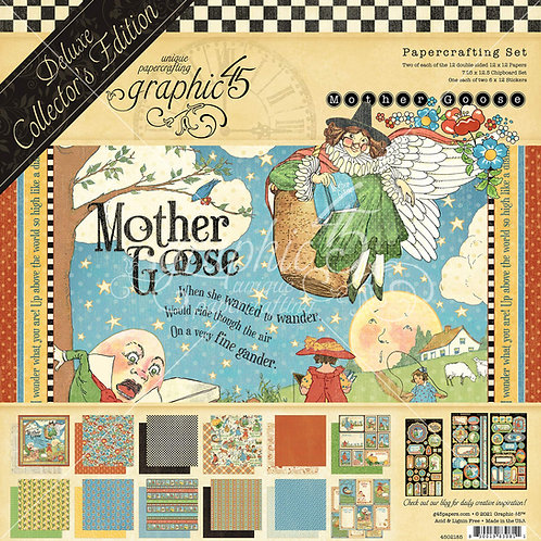 Graphic 45-Mother Goose - Deluxe Collector's Edition