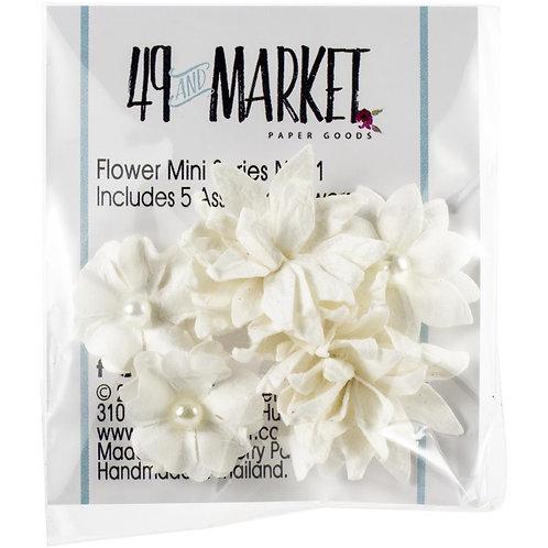 49 and Market-Mini Flower Series-Cloud-Item #MS88329