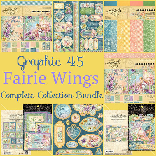 Graphic 45-Fairie Wings-Complete Collection Bundle