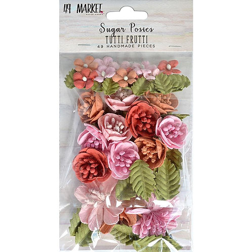 49 and Market-Sugar Posies-Tutti Frutti-Item #SUG32402