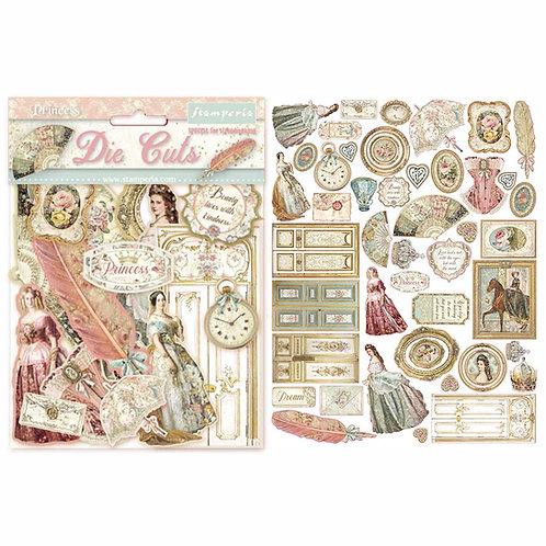 Stamperia - Princess Die Cuts - Item #DFLDC16