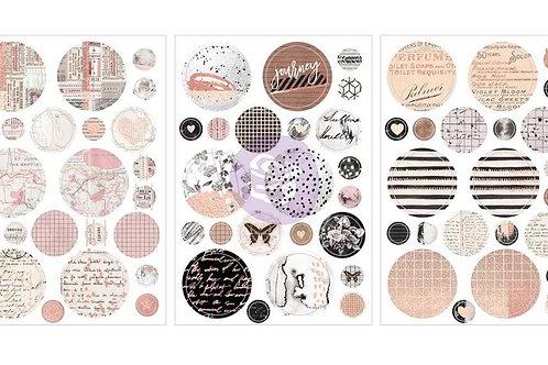 Prima - Amelia Rose - Traveling Rose Stickers
