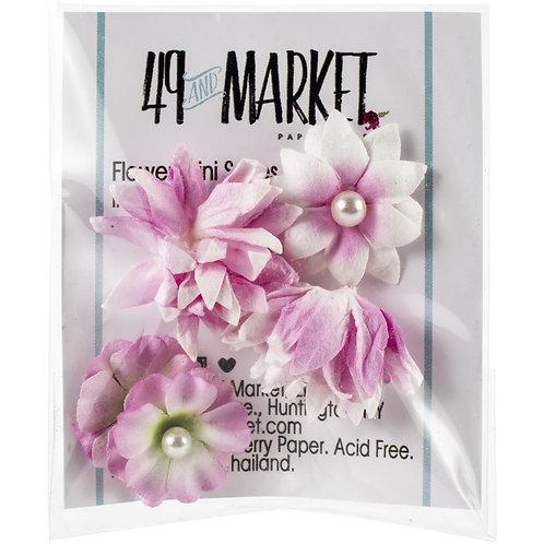 49 and Market-Mini Flower Series-Blush-Item #MS88343