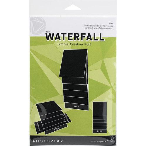 PhotoPlay - Maker Series - 4 x 4 Mechanical Waterfall Kit - Black