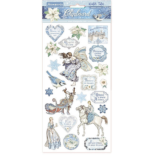 Stamperia - Winter Tales - Adhesive Chipboard