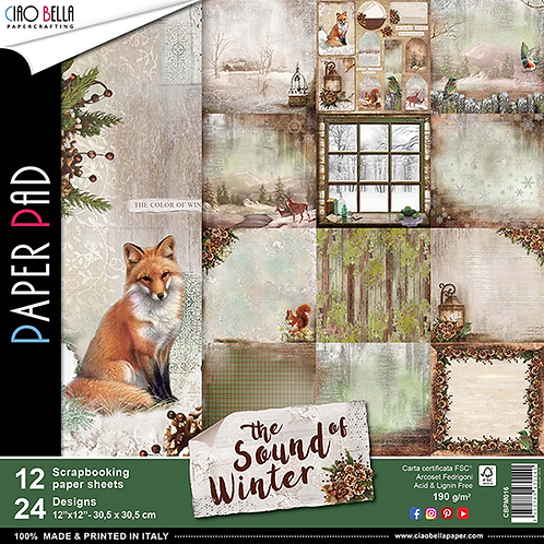 The Sound of Winter by Ciao Bella-12-12x12 Double-Sided Papers