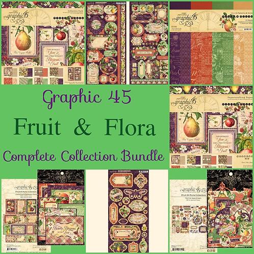 Graphic 45-Fruit & Flora-Complete Collection Bundle