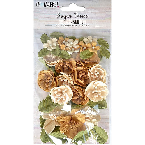 49 and Market-Sugar Posies-Butterscotch-Item #SUG32433
