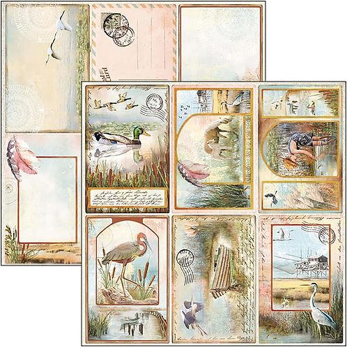 Ciao Bella - Delta - Postcards  - 2 - 12x12 Single Sheets