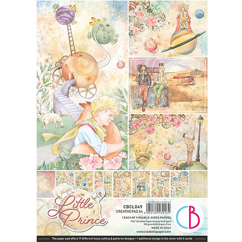 PRE ORDER The Little Prince by Ciao Bella-9 Double-Side Papers - A4 Format