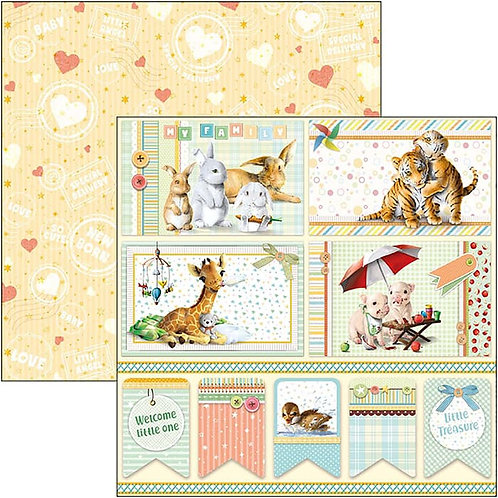 My First Year - Cards & Tags - 2 - 12x12 Single Sheets