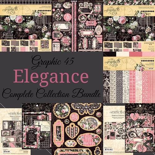 PREORDER Graphic 45-Elegance-Complete Collection Bundle