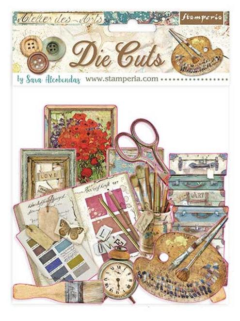 Stamperia - Atelier Des Arts - Die Cuts