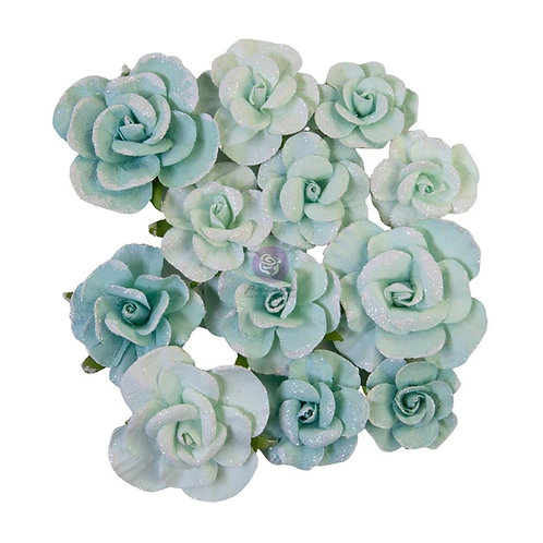 Prima - Magic Love - Magical Love - Mulberry Paper Flowers - 12 Pieces