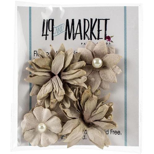 49 and Market-Mini Flower Series-Mushroom