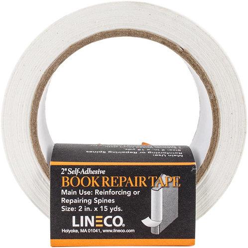 Lineco Self Adhesive Book Repair Tape - White