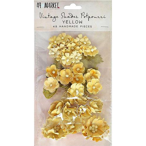 49 and Market-Vintage Shades Potpourri-Yellow