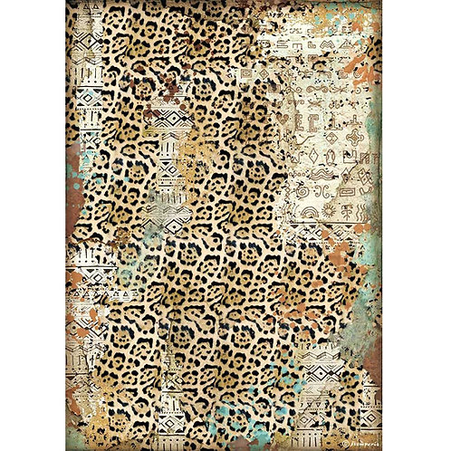 PRE ORDER - Stamperia - Amazonia - Texture - Rice Paper A4