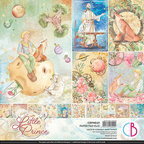 PRE ORDER The Little Prince by Ciao Bella - 12 - 12x12 Double-Side Sheets