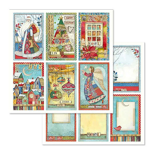 Make A Wish by Stamperia-6 Christmas Images-2-12x12 Sheets-Item #SBB636