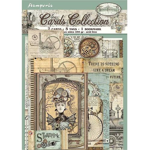 Stamperia - Voyages Fantastiques - Card Collection