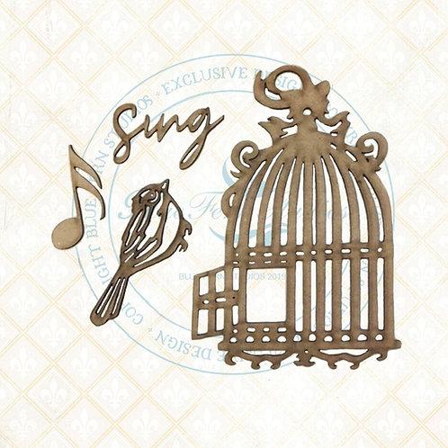 Blue Fern - Bird Waltz - Chipboard - Bird Song
