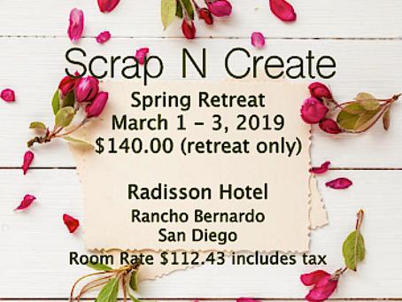 Scrap N Create Retreat