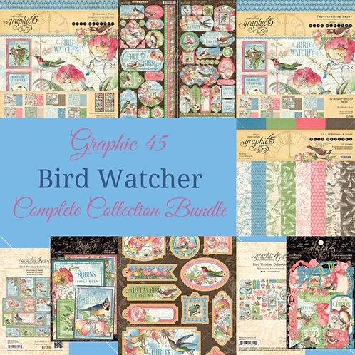 PREORDER Graphic 45-Bird Watcher-Complete Collection Bundle