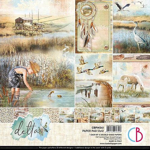 Delta by Ciao Bella - 12 - 12x12 Double-Sided Papers