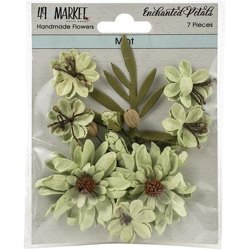 49 and Market-Enchanted Petals-Mint