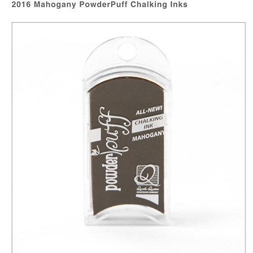 PowderPuff Ink Pad-Mahogany
