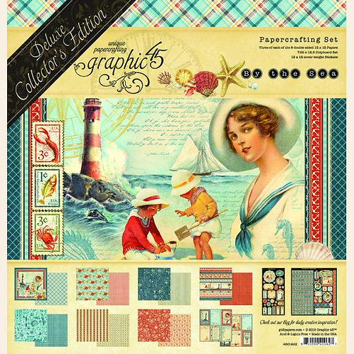 Graphic 45-By the Sea-Deluxe Collector's Edition
