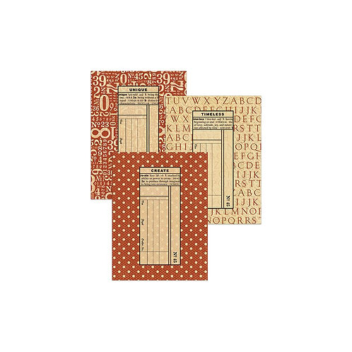 Graphic 45-ATC Policy Envelopes-Red-9 Pieces-Item #4501261