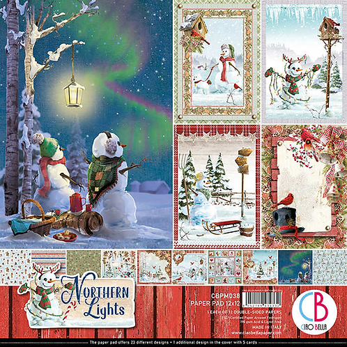 Northern Lights by Ciao Bella - 12 - 12x12 Double-Sided Papers