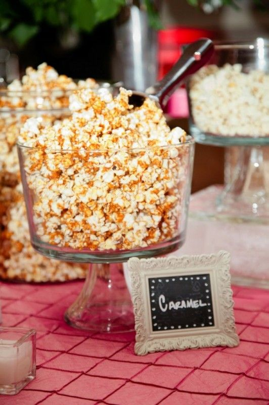 wedding popcorn bar 27