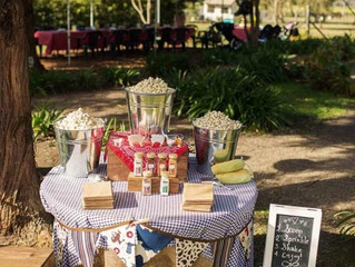 Family Reunion - Picnic party - Popcorn Bar!