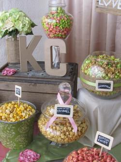 Pinterest popcorn bar