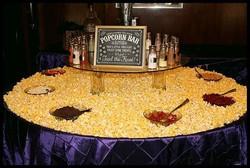 popcorn table