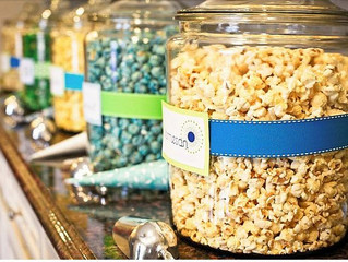 Wedding Popcorn Bar !