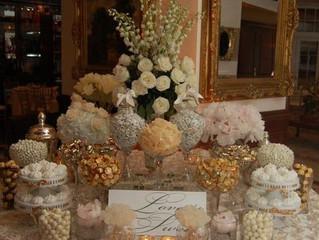 Wedding Popcorn and Sweets Bar!