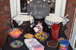 Popcorn bar - simple