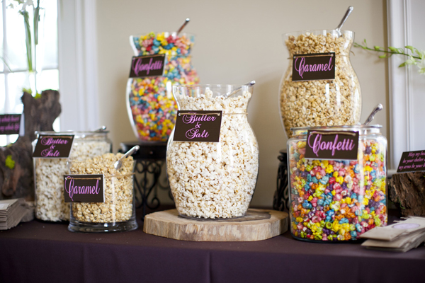 Southern-weddings-popcorn-bar