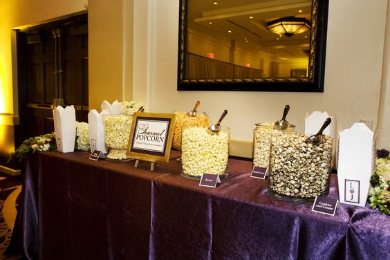 Popcorn Bar - wedding 2