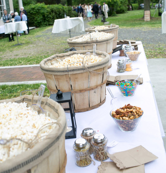 Popcorn Bar photography by www.laurenschwarz.com