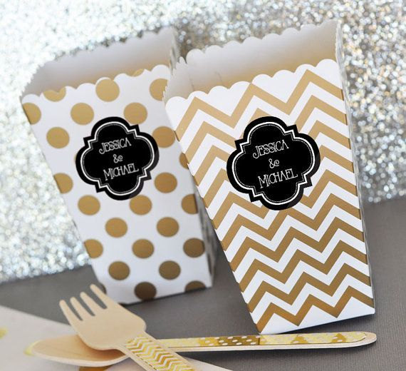 wedding popcorn boxes