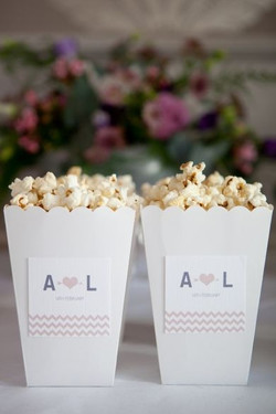 popcorn favor boxes