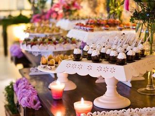 Beautiful Dessert Table at Wedding Reception